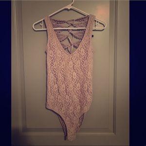 Lace bodysuit - Topshop